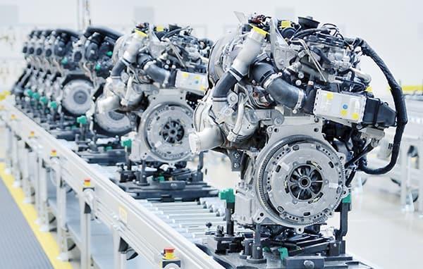 produkce motorů