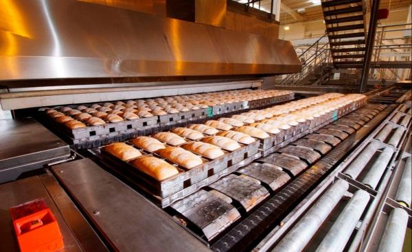 pekařská řetězová pec